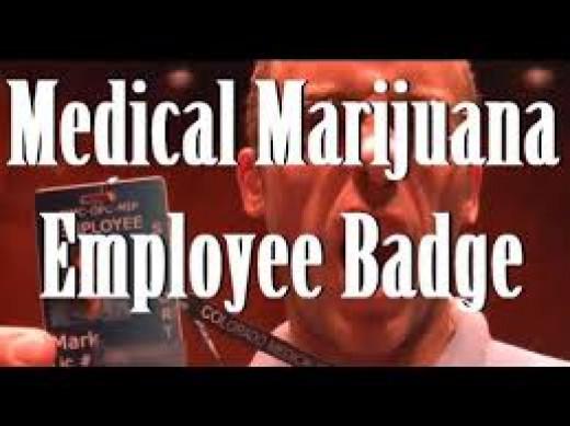 Medical Marijuana Employee Badge