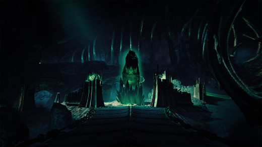 Picture of new content in the first expansion pack coming to Destiny the dark below
