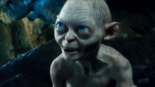 The ultimate edition of the Hobbit trilogy will feature an extra film: Smeagol's Lament, where Andy Serkis argues with himself for three hours.