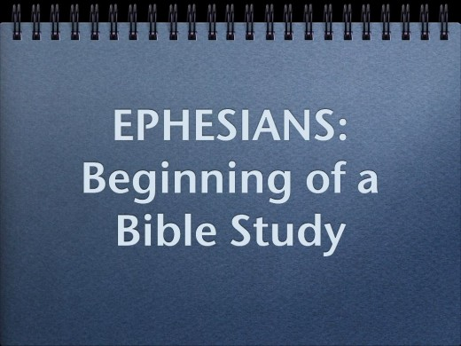 This picture will be the introductory part of Ephesians.