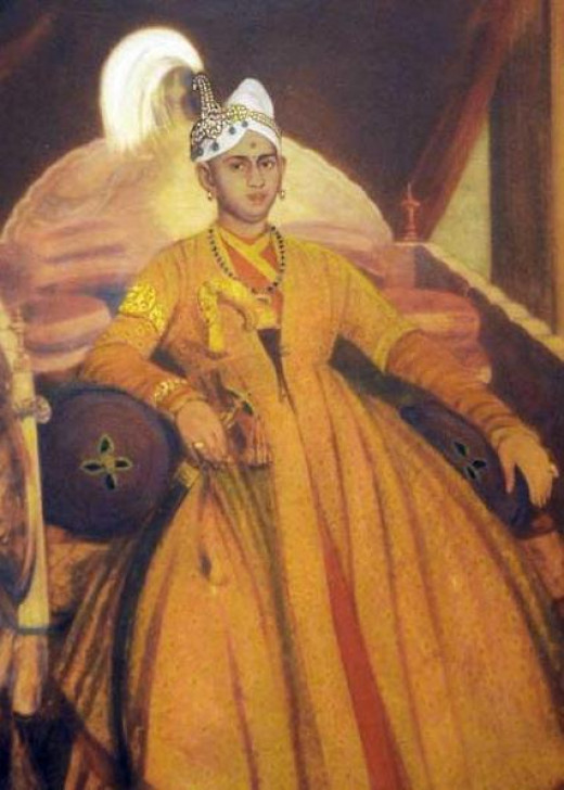 Swathi thirunal Rama Verma, the King of Travancore