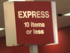 Have you ever tried to sneak extra items through an express lane in a store?