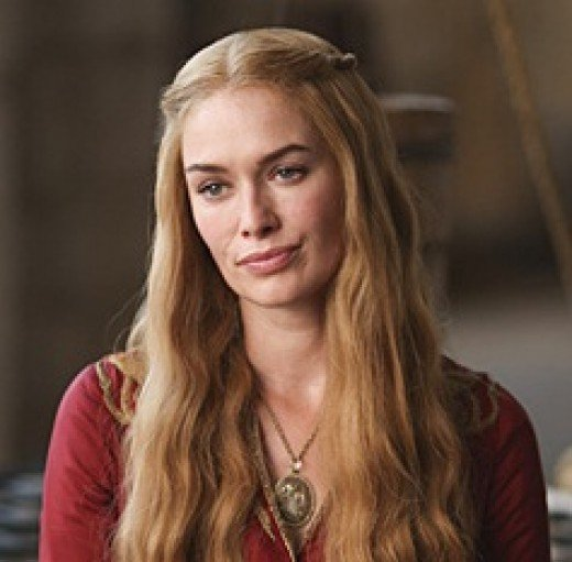 And I'll raise that to a Cercei Lannister as played by Lena Headey.  CONSTANT Bitch Face for that character.