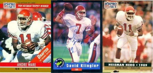 Houston Cougar QB Legends - Andre Ware and David Klingler