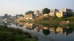 Picturesque Mandakini at Chitrakoot Dham
