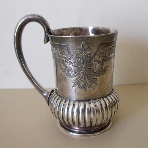 Walker & Hall Late Victorian Silver  Plated Tankard ( Buyer in Minsk, Belarus ) £6