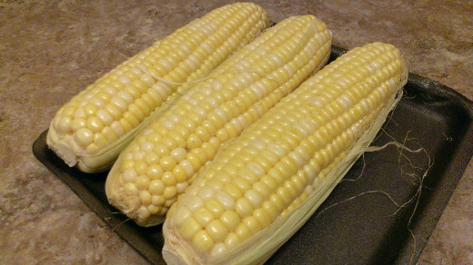 You will need more corn if you are having it as a starter.