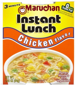 Ramen Noodles / Instant Lunch