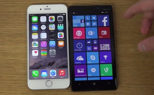 iPhone 6 vs. Nokia Lumia 930
