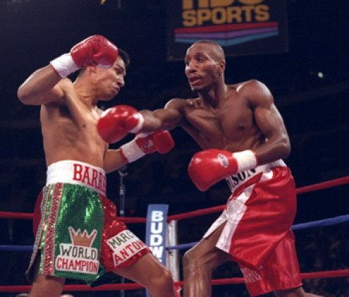 Poison Junior Jones beat Mexican legend Marco Antonio Barrera twice during his fabulous career. Jones used his height, reach and boxing I.Q. to dominate the Mexican great.