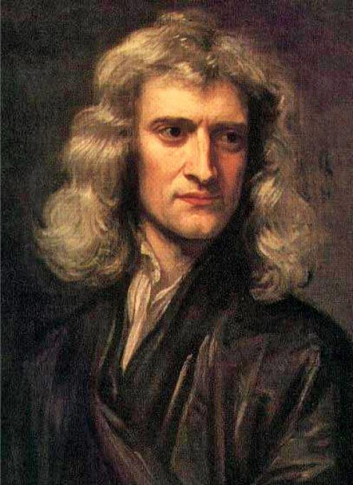 Portrait of Isaac Newton (1642-1727)