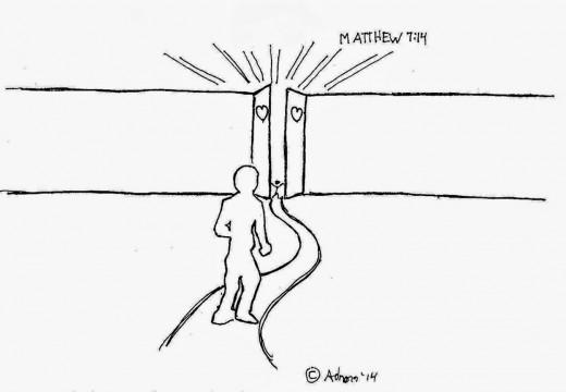 The narrow gate.