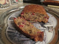 Cranberry Nut Banana Bread
