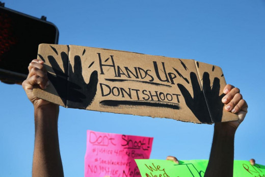 Don't Shoot (a protest)