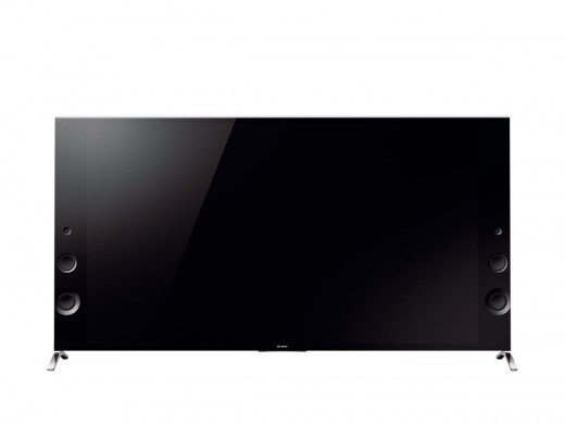 The 65X9005B delivers good quality sound through six front-firing speakers