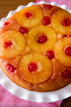 How to makes a simple Upside-down Pineapple Cake