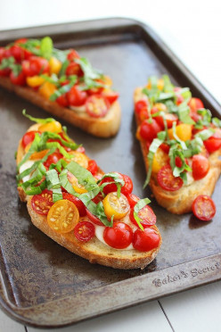 A Simple way to Make Your Own Bruschetta