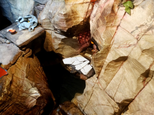 Ram Kund inside Cave No. 2