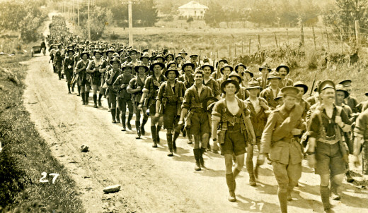 Army in World War 1