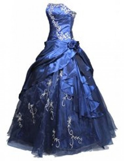 This is only one dress. If your prince has three balls, you will need two more dresses. I would go to your local fairy godmother for advice. There may also be forest animals to help you out, too. Good luck!