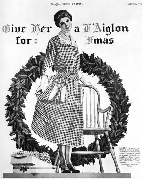 "A 1922 Ladies' Home Journal advertisement using ""Xmas""."