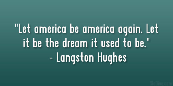 Summary analysis of langston hughes let america be america again summary analysis of langston hughes let america be america again owlcation m4hsunfo