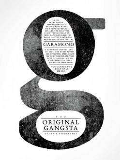 Garamond Typography