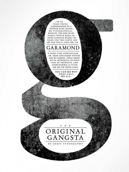 Garamond Typography