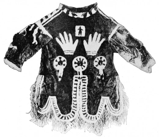 "Decorated Shaman's Coat from 1903 in ""Popular Science."""