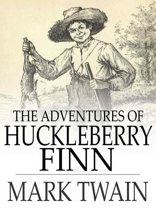 Cover of the Adventure of Huckleberry Finn