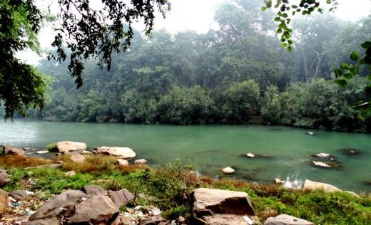 Mandakini river at Sati Anusuya 1