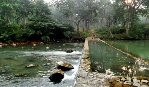 Mandakini river at Sati Anusuya 3