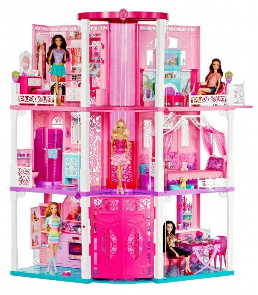 Every little girl who is into Barbie will surely appreciate receiving this Barbie Dream House!