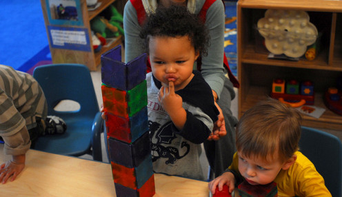 Early child development - children are curious and love exploring