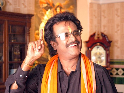 Rajinikanth in Chandramukhi