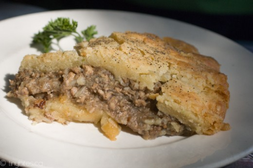 Delectable Tourtiere