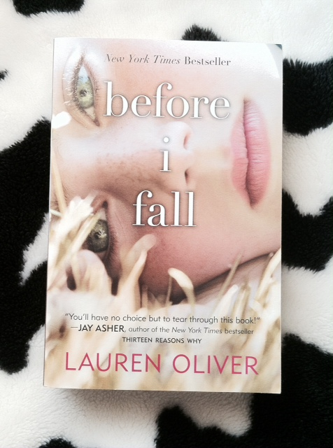 "This is ""Before I Fall"" by Lauren Oliver."