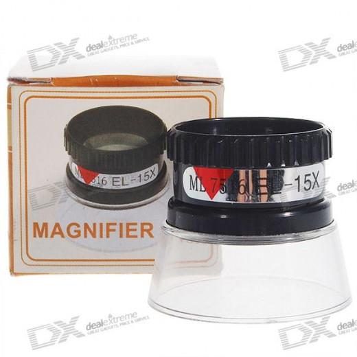 Magnifying loupe
