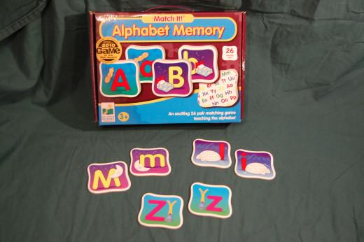 Alphabet Memory Match