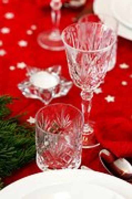 Is Your Focus on Having a Beautiful Christmas Table, Food and Drinks?