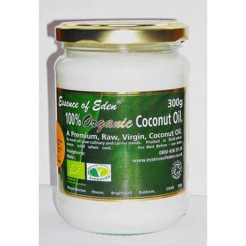 Essence of Eden Organic Coconut Oil