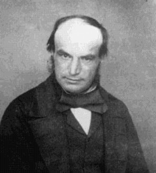 John Couch Adams, one of the scientists who discovered Uranus.  Adams demonstrated the existence of the planet using mathematics.