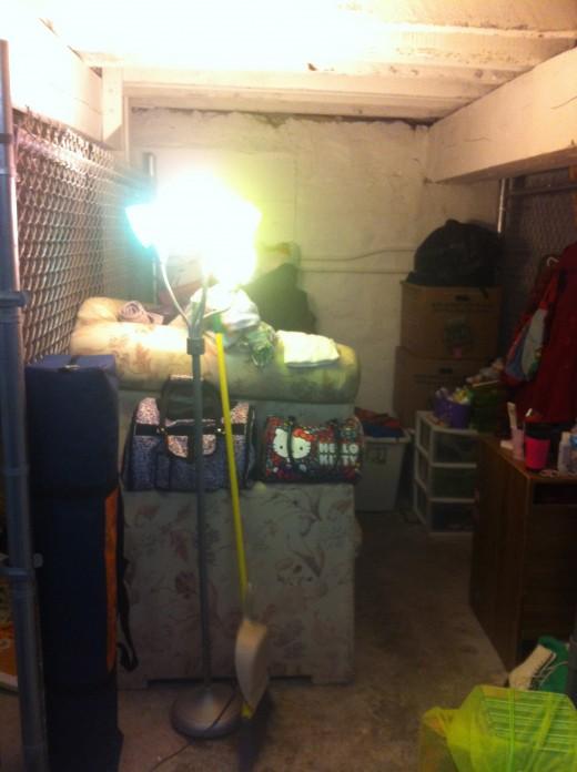February 2014: My U-Haul Storage
