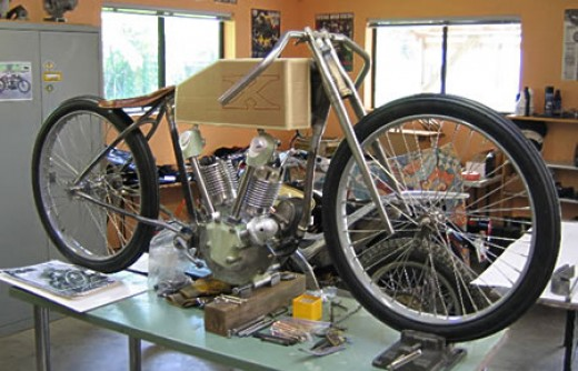 A Motorcycle Workshop