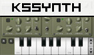 KS Synth simulates plucked and hammered strings