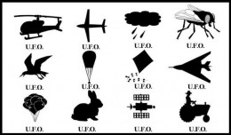 """Sometimes UFOs are just that - """"unidentified""""."""