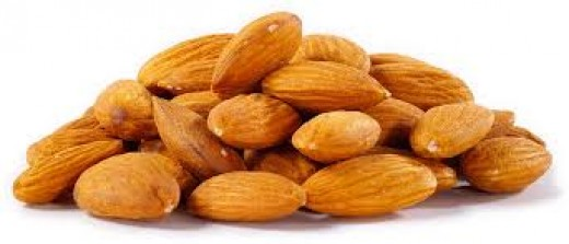 Almonds are important for men and women to eat to help with fertility