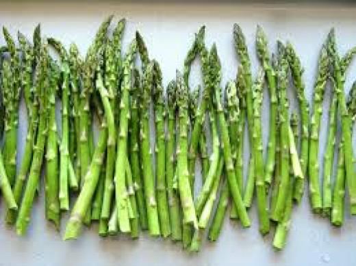 Asparagus is full of folic acid