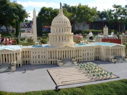 Mini White House, Legoland