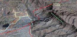 The Apache Leap  area